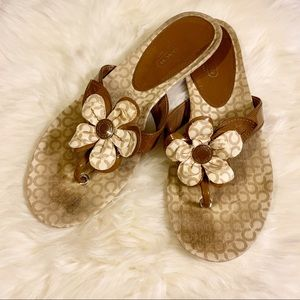 Coach Pattey Sandals 8